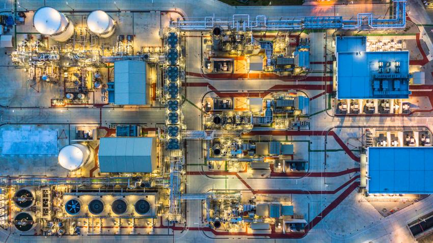 Petrochemical plants are packed with Expo products